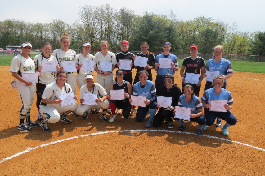 2019 Softball All Region Photo