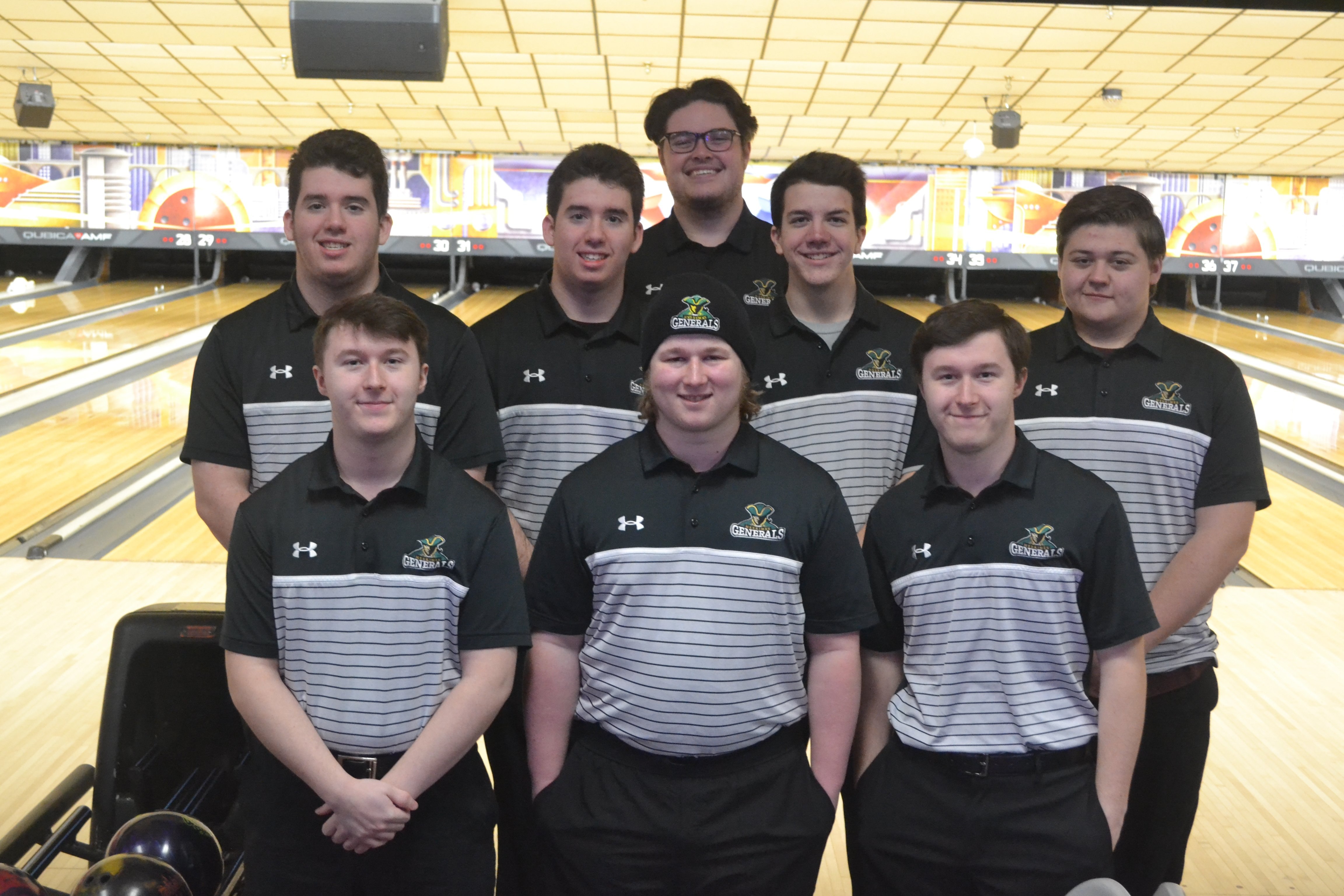 2020 Mens Bowling Team Picture