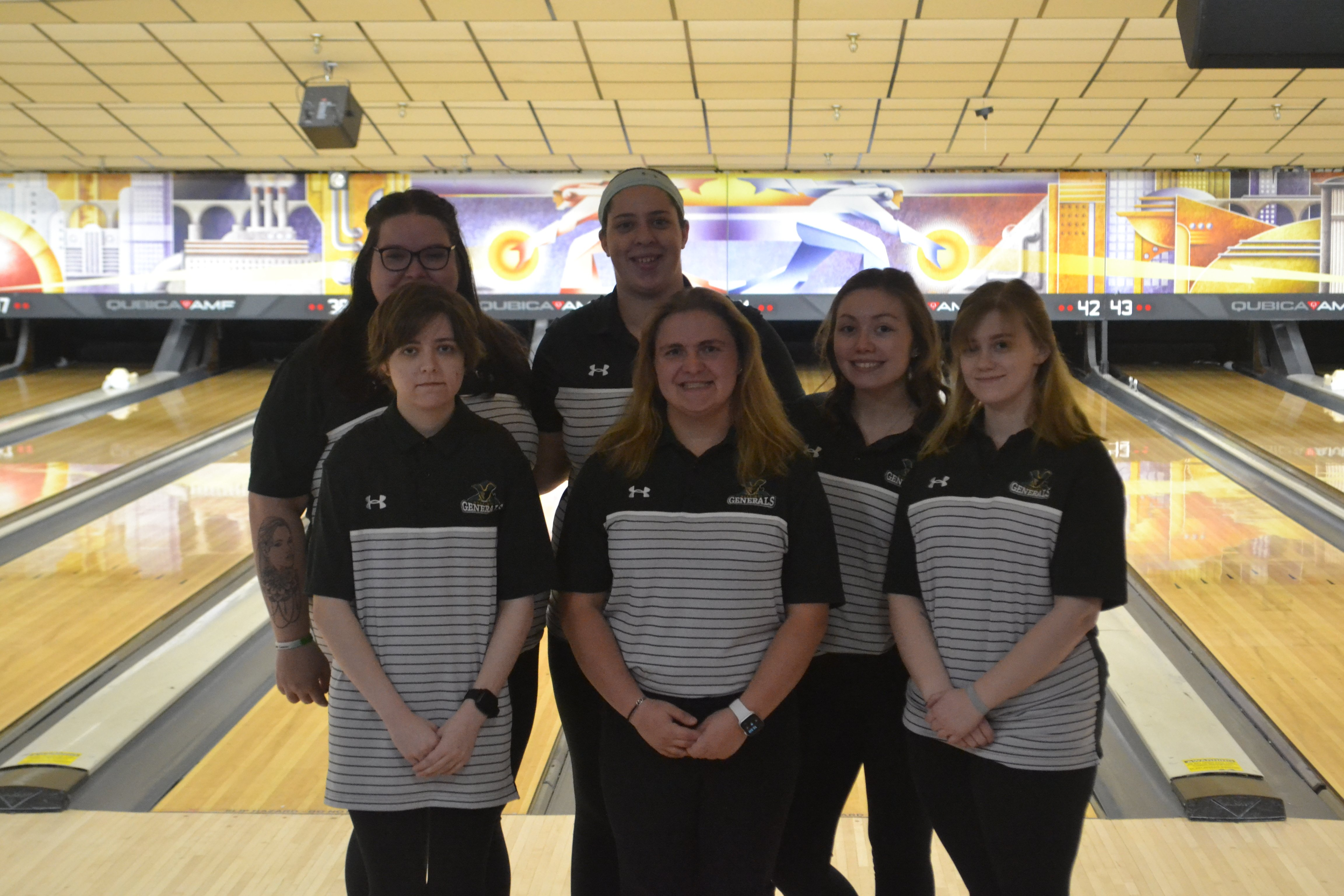 2020 Womens Bowling Team Picture