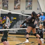 Brennan Volleyball Action vs NCCC