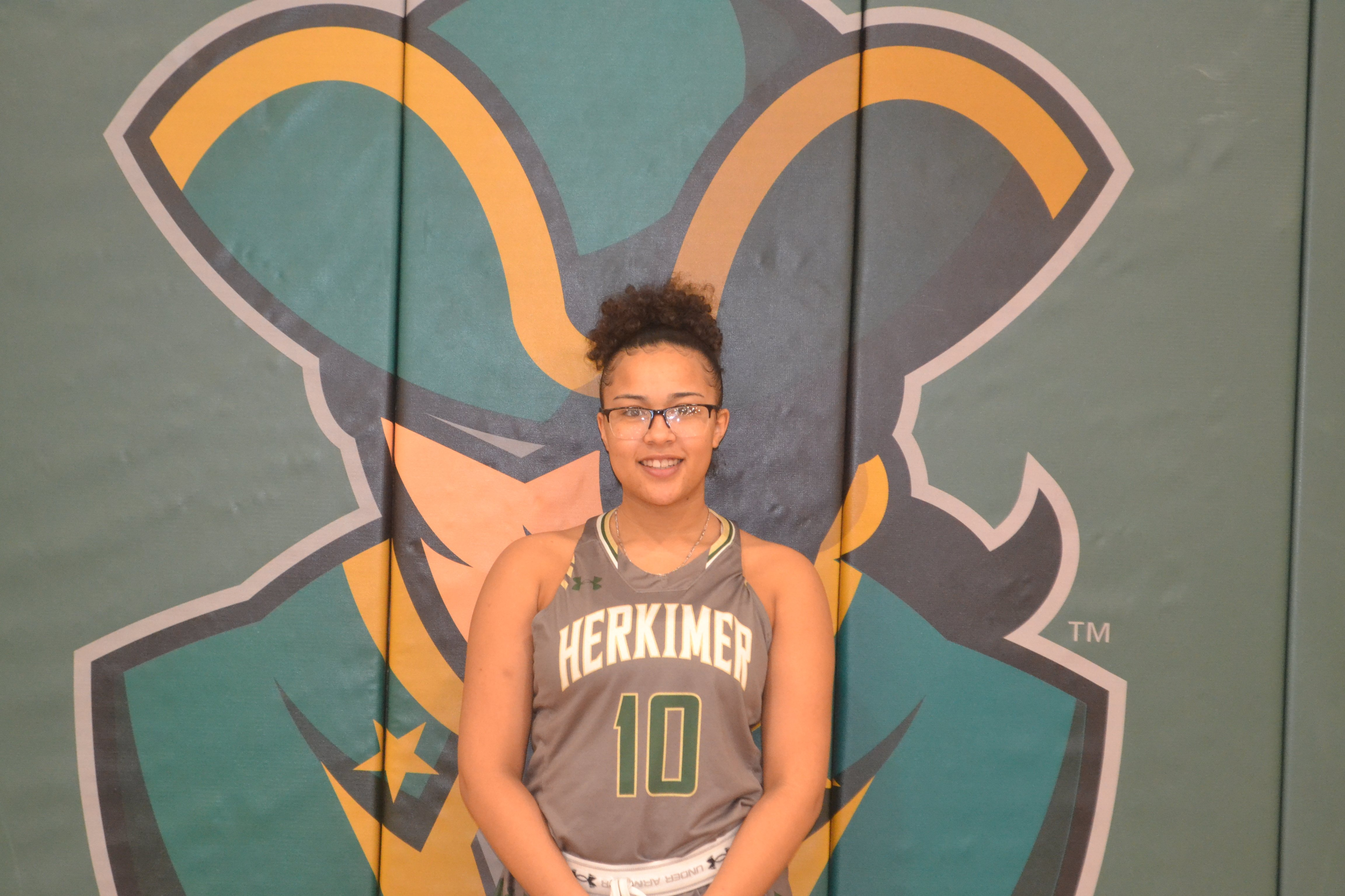 Gabby Howard basketball head shot