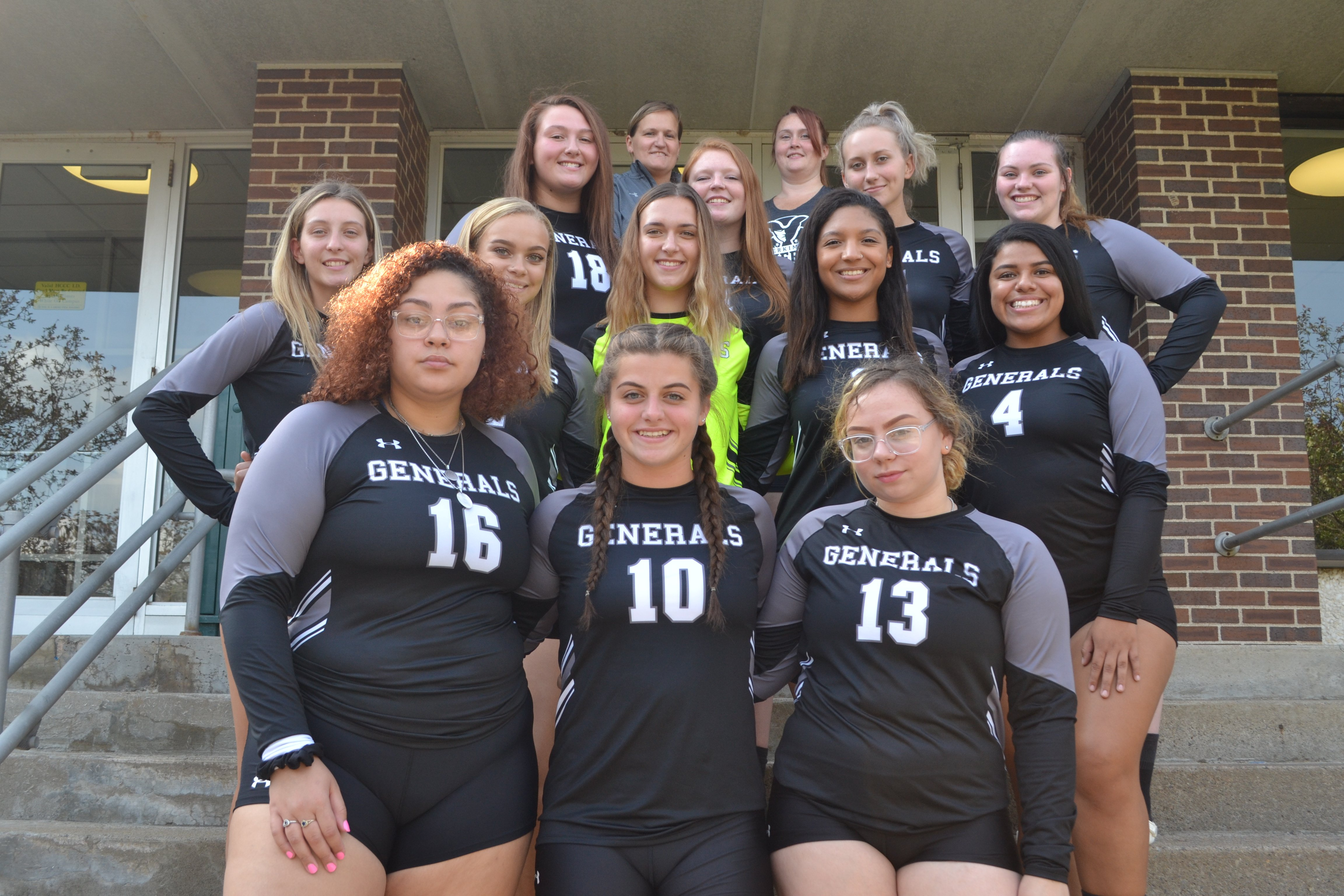 Herkimer Volleyball Team Pic 2019